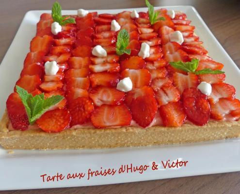 Tarte aux fraises d'Hugo & Victor P1010518 R (Copy)
