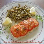 Dos de cabillaud et sa tomate au four P1020212 R (Copy)