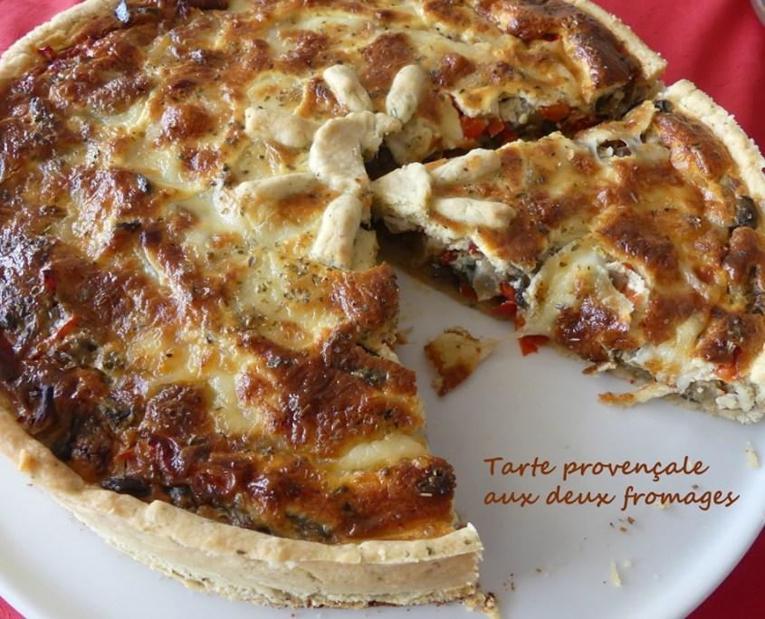 Tarte provençale aux deux fromages P1020614 R (Copy)