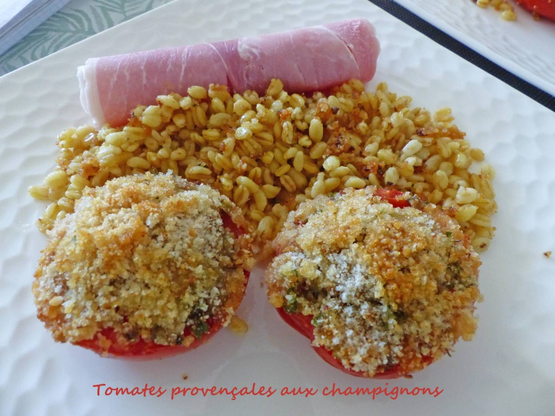Tomates provençales aux champignons P1260982 R