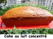 Cake au lait concentré Index P1030501