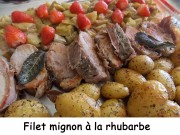 Filet mignon à la rhubarbe Index DSCN5170