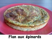Flan aux épinards Index P1030894