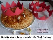 Galette des rois au chocolat du Chef Sylvain Index P1000667