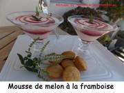Mousse de melon à la framboise Index DSCN5627