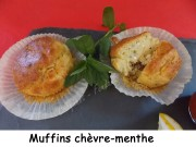 Muffins chèvre-menthe Index DSCN5924