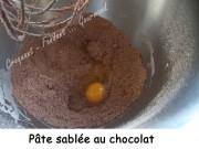 Pâte sablée au chocolatIndex DSCN3567