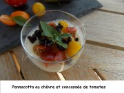 Pannacotta au chèvre et concassée de tomates Index DSCN5291