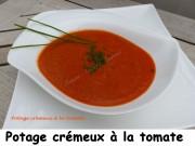 Potage crémeux à la tomate Index P1010769