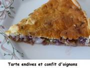 Tarte endives et confit d'oignons Index P1000741