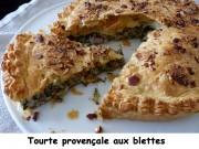 Tourte provençale aux blettes Index P1010226