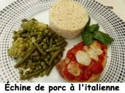 Échine de porc à l'italienne Index P1040032