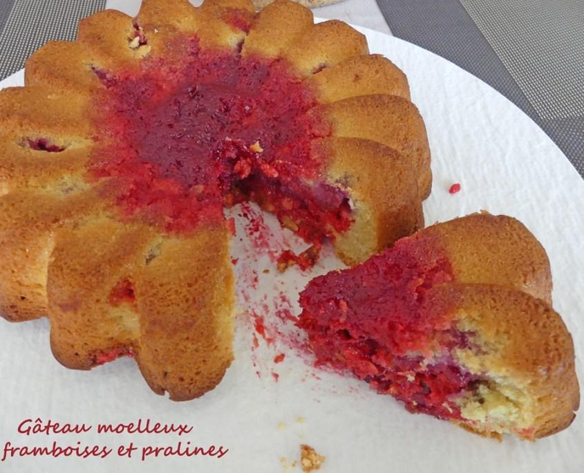 Gâteau moelleux framboises et pralines P1020424 R (Copy)
