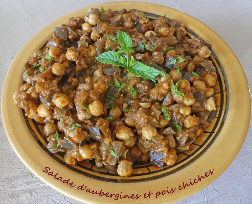 Salade d'aubergines et pois chiches P1020273 R (Copy)
