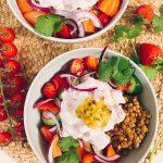 Tarte fine au potimarron, oignons rouges et parmesan