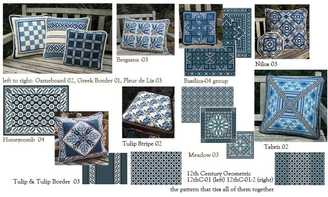 blue white composite