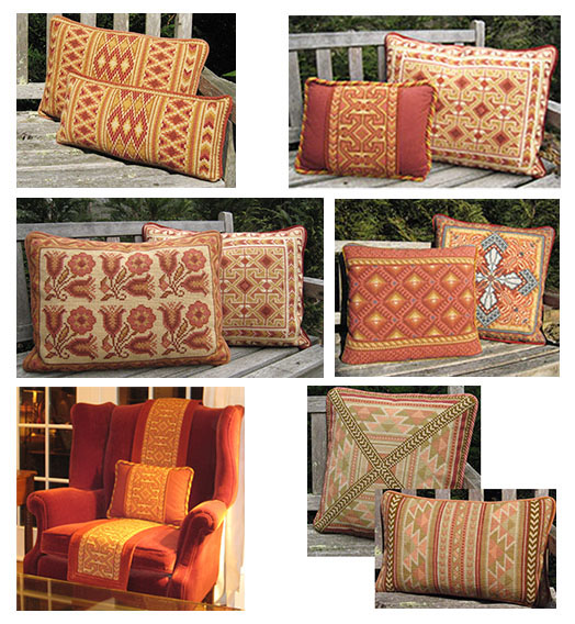 Fall spice colors for stitching