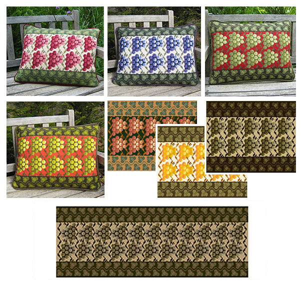 cross-point Grape pattern color range