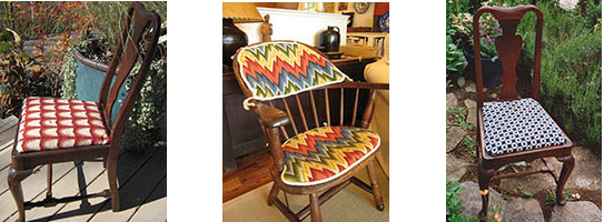 3 chair seats
