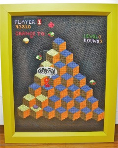 Qbert Needlework Project