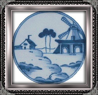 Windmill-in-Blue