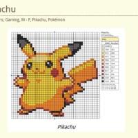 Pokemon Cross-Stitch Patterns