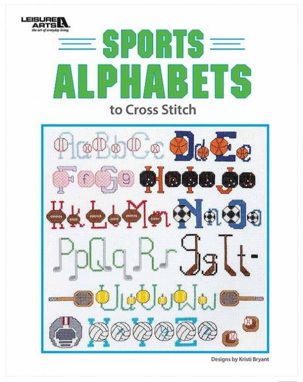 Sports Alphabets to Cross Stitch review.