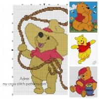 Free Winnie the Pooh Cross-Stitch Patterns