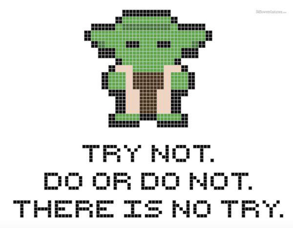 Geeky cross stitch patterns