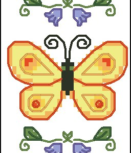 A Butterfly Bookmark for Your Summer Reading