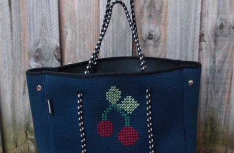 Customize a Bag with Cross Stitch