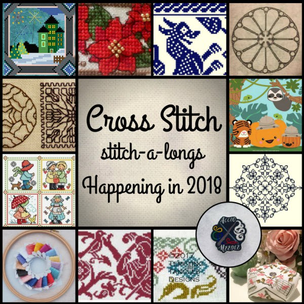 cross stitchalongs in 2018