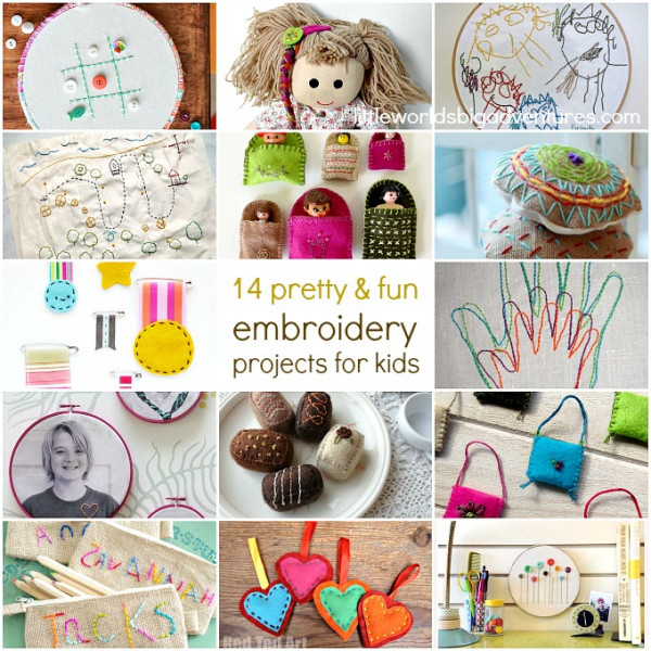 embroidery projects for kids