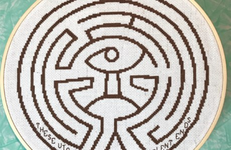 Stitch a Westworld Maze While You Watch Season 2