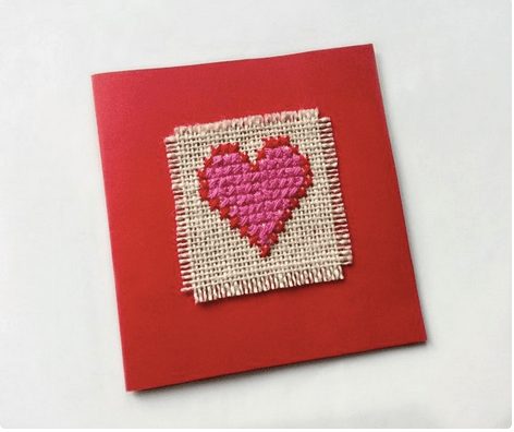 Sweet Hearts to Stitch for Mom