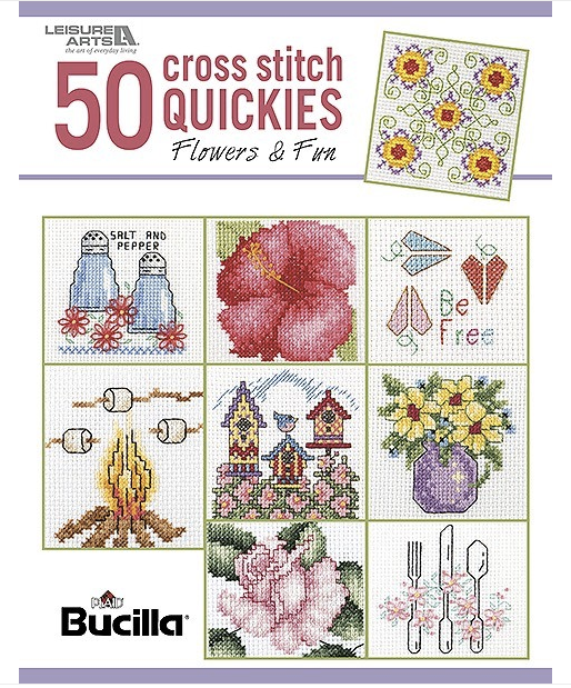 50 cross stitch quickies flowers and fun