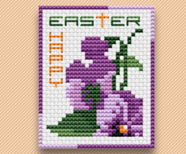 Happy Easter Cross Stitch