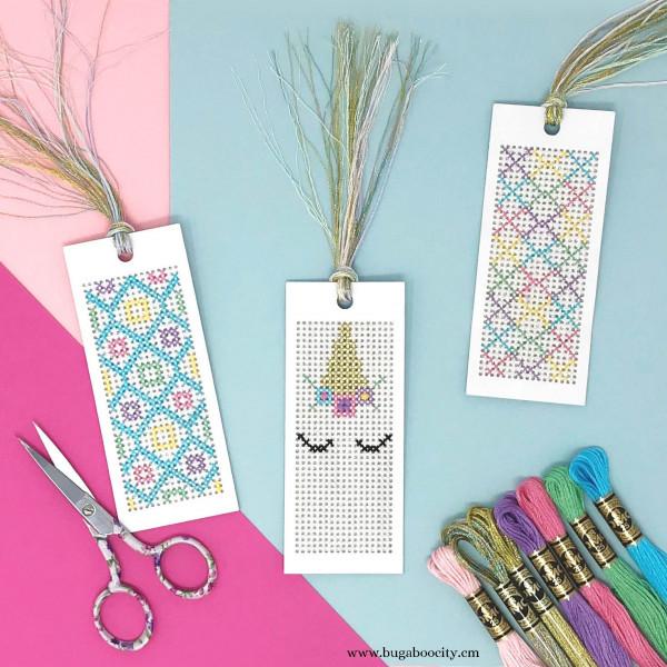 This Unicorn Cross Stitch Bookmark is the Cutest – Cross-Stitch