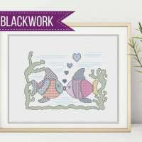 Get Started Stitching Blackwork with These Free Designs
