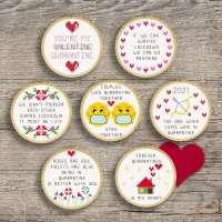 Cross Stitch a Quarantine Valentine