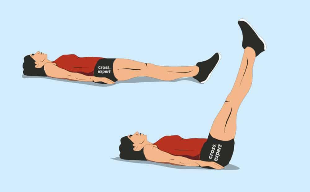 Bacaklar yalan kaldırma