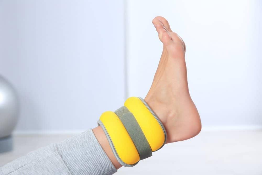 greutățile piciorului pentru pierderea în greutate