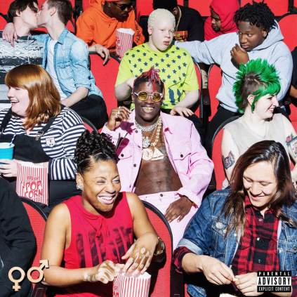 """Rapper Lil' Yatchy's front cover for """"Teenage Emotions"""""""