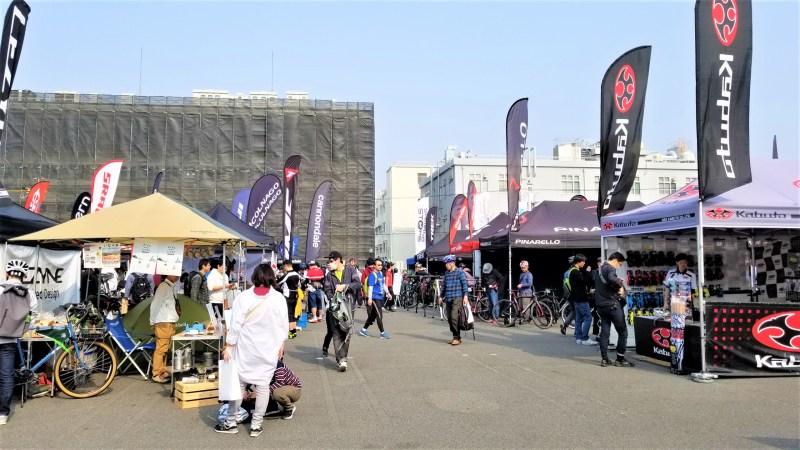 名古屋サイクルスポーツデイズ 会場雰囲気