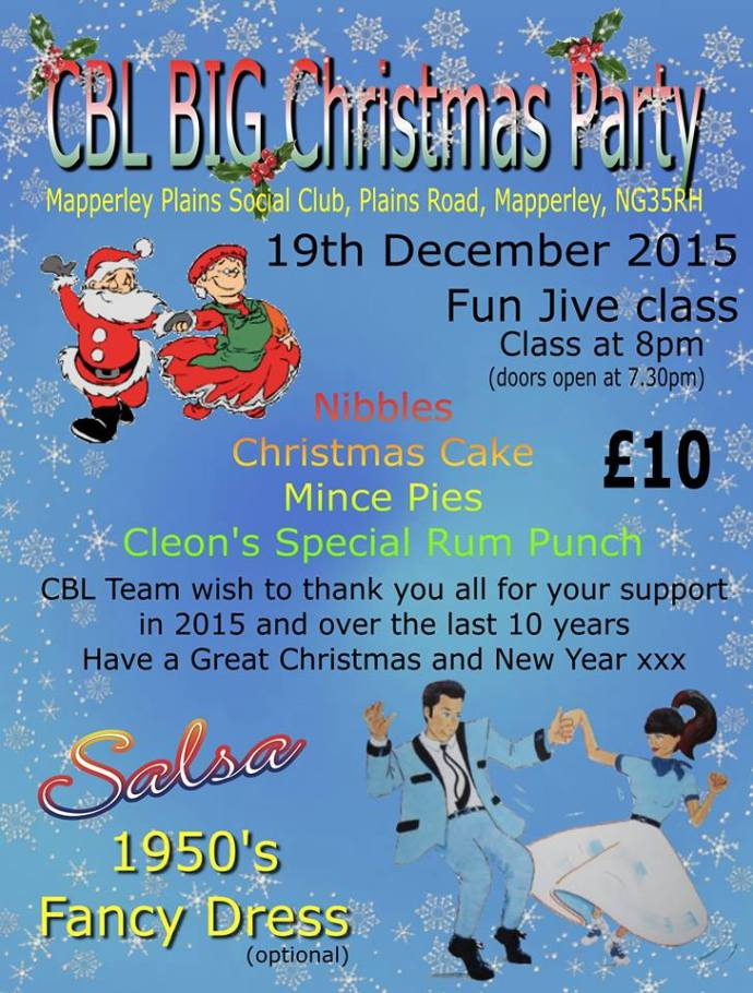 CBL XMAS PARTY DEC.2015