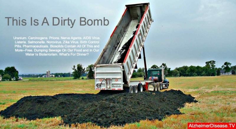 sewage sludge and disease
