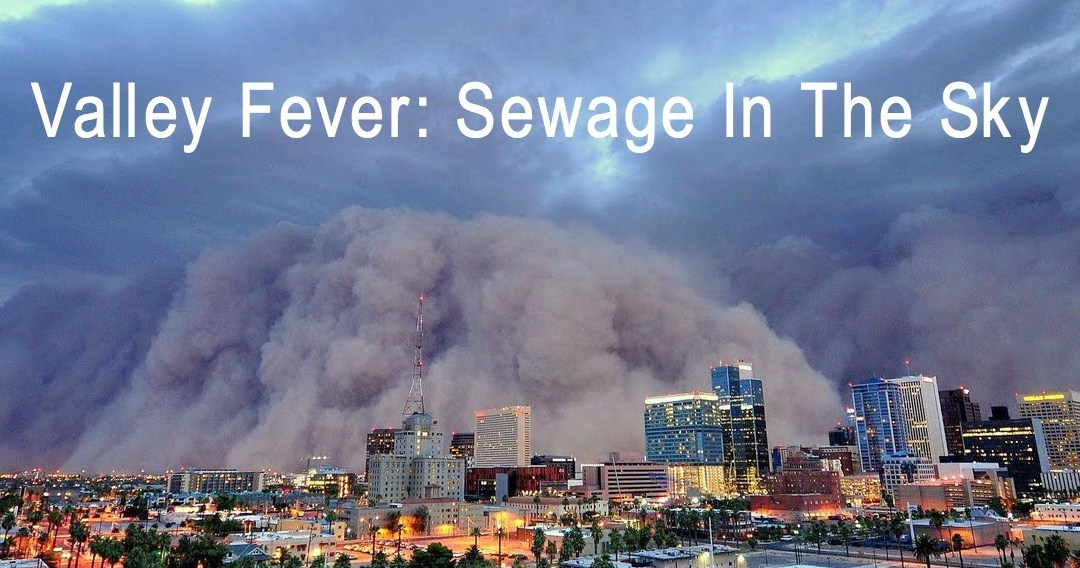 Valley Fever Caused By Sewage Sludge