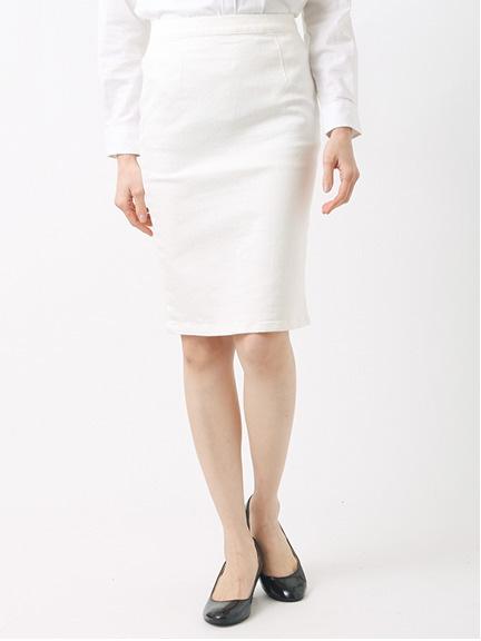white denim tight/SK