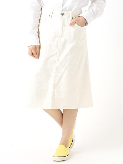 ホワイトデニムスカート 1501157-87-11-12