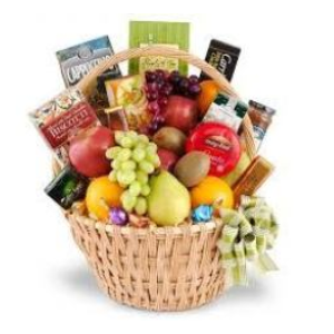 fruit basket snacks